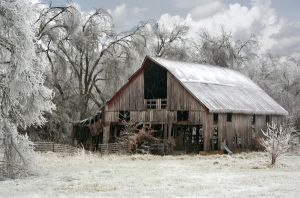 Missouri Ice Storm by GallamorePhotography