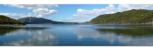 Lake Rotomahana Panorama by faithnomorefan
