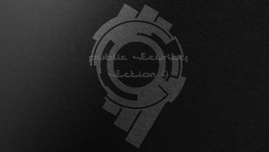 Section 9 Wallpaper - Black by van-helblaze