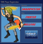 ShadowStar TOME Player Registration by BillyBCreationz