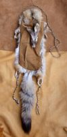 Swift Fox Fur Pouch by lupagreenwolf