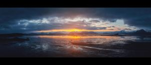 Sunset in Iceland by Eredel