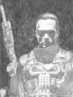 The Punisher by andremirandarosa