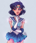 Sailor Mercury by itslopez