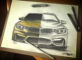 Progress of a new BMW M4. by 2fast-2catch