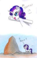 Rarity's destiny by Jack-a-Lynn
