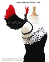 Gothic Victoria red black tip by eProductSales