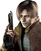 re4 leon by cyber-rayne