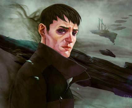 Dishonored 2 - The Outsider - One for the Void by ghostfire