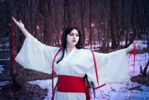 Shirahime spirit by Seiya-teno