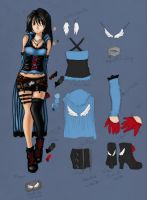 rinoa :my design by littleshibi
