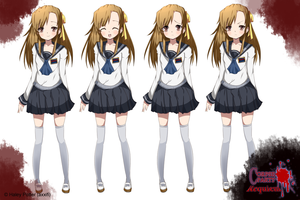 :Corpse Party OC: Amaya official in-game art: by axxifi