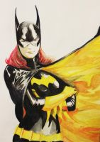 watercolor_BatGirl by ToferVs