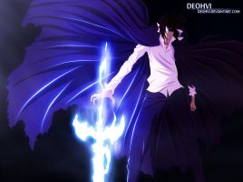 bleach 541 - zangetsu - coloring by DEOHVI