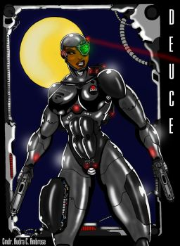 Cyborg Justice (Revisited) by Mr-Marcus-81