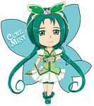 Yes PreCure 5: Cure Mint by Vulpixi-Misa