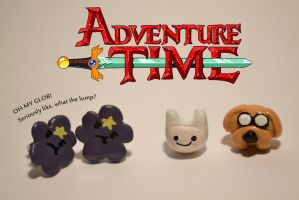 Adventure Time Earrings by Smikimimi