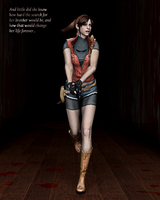 Claire Redfield by ceriselightning