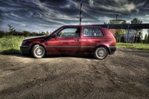 another VW Golf by afron