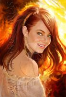 Smile of Fire by Mitia-Arcturus