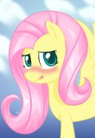 Fluttershy Portrait by Plazyma