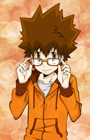 KHR: Tsuna by Imperfection22