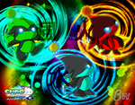 Chao World Season 3 - Three Ninjas Wallpaper. by Blizzard-White