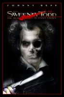Sweeney Todd Movie Poster XX by Rickbw1