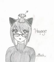 OC Hayage by MadHatterGirlx3