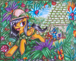 Adventures of Daring Do by Aschenstern