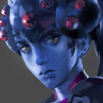 (WIP) Widowmaker Overwatch by MichaelCTY