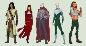 Magneto and his Acolytes by cspencey