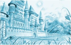 :: Castle - 1 Pt. Perspective by Digi-Muse
