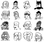 Just Draw Some Heads by Zito-is-Neato