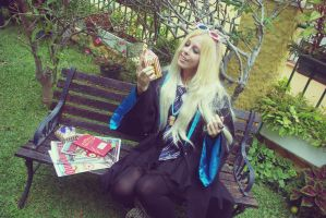 Luna Lovegood cosplay by MissWeirdCat