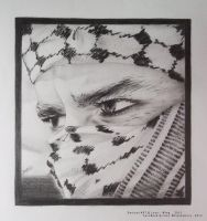 Palestinian Rebel by LOVE--WING