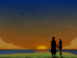 Lovely Sunset - Summoner Wars by abh3