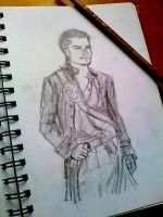 Will Turner Sketch by IgnitingLights