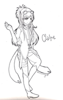 Claire A. Rock by MyaChan13