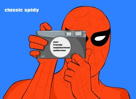 classic spidy 70 by superhilalo