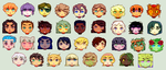 EVG Family Icons by AngeltheMerman
