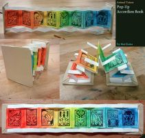 Bookmaking: Pop-Up Accordian by queenmari