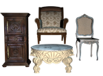 Furniture pack 02 PNG by Ecathe