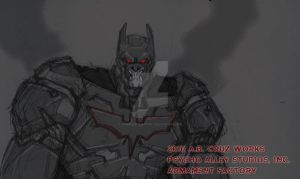 DARK KNIGHTSUIT v1.0 by ARMAMENTFACTORY