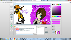 Doodles with ichi on iscribble by animekatz