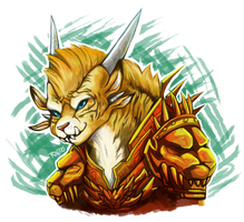 Charr - Warm up Practice/Trade/Whatever by RinTheYordle