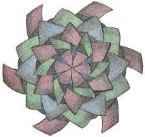 Mandala for Demented Sanity by sweetmarly