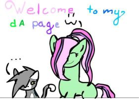 This is my new deviant ID by Majestic-Silver
