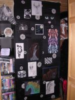 Closet Wall of Art by sexykitty2385