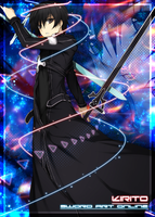 Kirito: Card Sleeves by CardOtaku